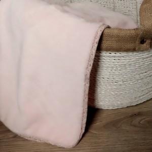 Pink Floral Blanket