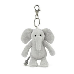 Jellycat Bashful Elephant Keyring