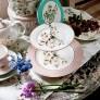 Katie Alice 'Cottage Flower' 2-Tier Cake Stand