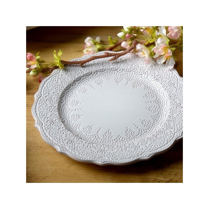 Katie Alice The Collection Lace Embossed Side Plate