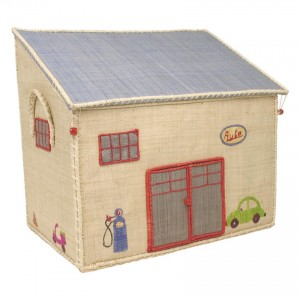 Medium Toy Basket Garage