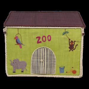 Medium Toy Basket Zoo