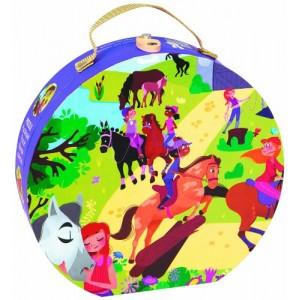 Horse Riding School Puzzle