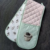 Katie Alice 'Cupcake Couture' Double Oven Glove