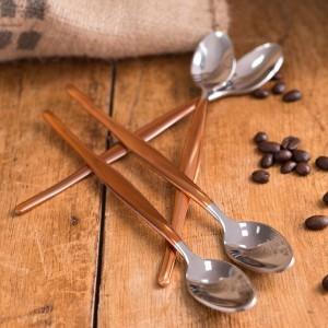 La Cafetiere Origins Set of 4 Latte Spoons