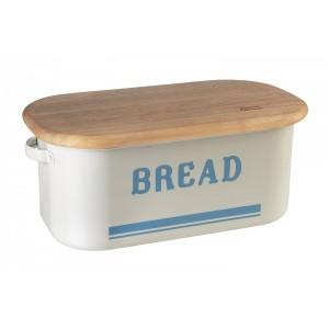 Tin Bread Bin w/ Wooden Lid, Jamie Oliver