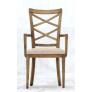 Double Cross Back Beidermeier Arm Chair