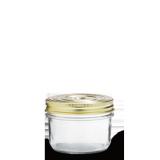 LE PARFAIT GLASS SCREW TOP PRESERVING JAR 350ML TERRINES FAMILIA