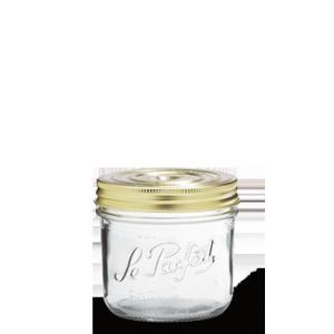 LE PARFAIT GLASS SCREW TOP PRESERVING JAR 500ML