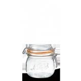 LE PARFAIT GLASS PRESERVING JAR W/CLIP 500ML BOCAUX SUPER
