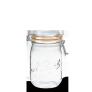 LE PARFAIT GLASS PRESERVING JAR W/CLIP 1L