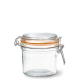 LE PARFAIT GLASS PRESERVING JAR W/CLIP 350ML TERRINES SUPER