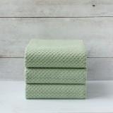 Green Jacquard Napkin set of 3