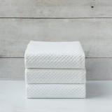 White Jacquard Napkin set of 3