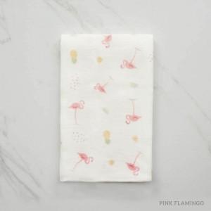 Pink Flamingo Tottori Baby Towel