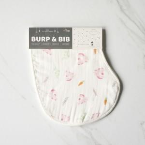 Hunny Bunny Burp & Bib