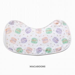 Macaroons Burp & Bib