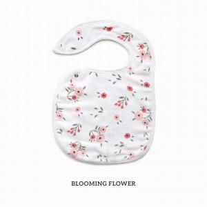 Blooming Flowers Snappy Bib