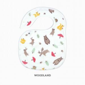 Woodland Snappy Bib