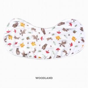 Woodland Burp & Bib