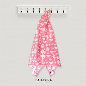 Ballerina Baby PINK  Hooded Towel
