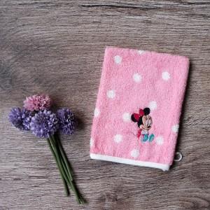 Disney Washmitt Polka Pink