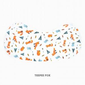 Teepee Fox Burp & Bib