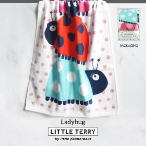 LADYBUG LITTLE TERRY TOWEL