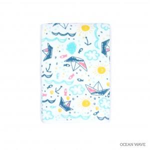 Ocean Wave Tottori Baby Towel