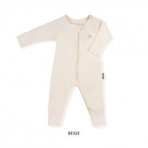 BEIGE Baby Sleepsuit