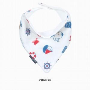 Pirates Bandana Bib