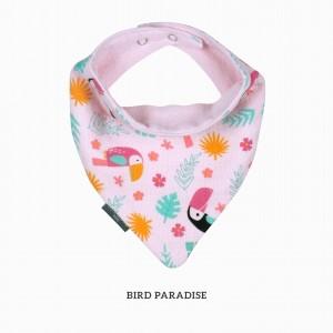 Bird Paradise Bandana Bib
