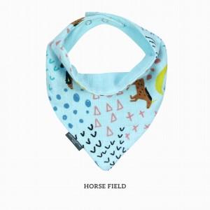Horse Field Bandana Bib
