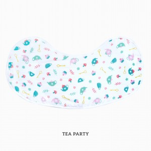 Tea Party Burp & Bib