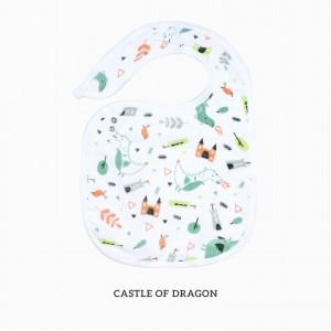Castle of Dragon Snappy Bib