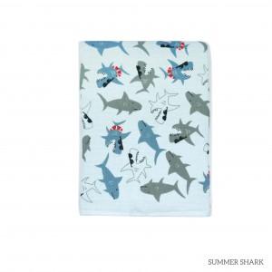 Summer Shark Tottori Baby Towel