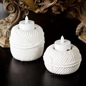 Yarn Candleholder