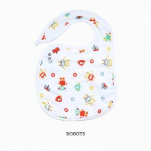 Robots Snappy Bib