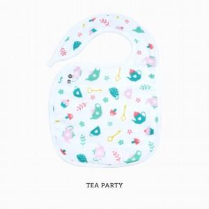 Tea Party Snappy Bib