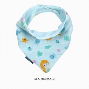 Sea Mermaid Bandana Bib