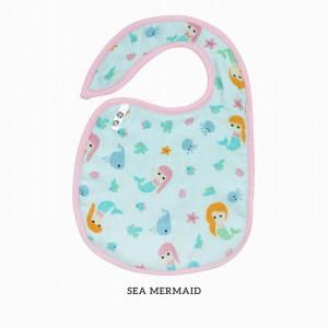Sea Mermaid Snappy Bib