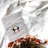 Mickey Tsum Tsum GREY Mason Baby Towel