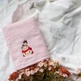 Princess Tsum Tsum PINK Mason Baby Towel