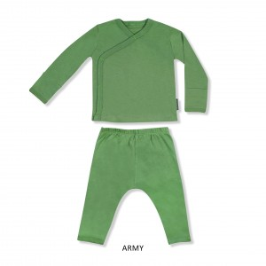 ARMY Baby Kimono Set