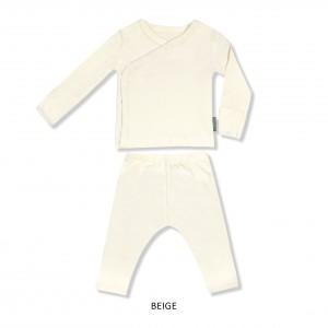 BEIGE Baby Kimono Set