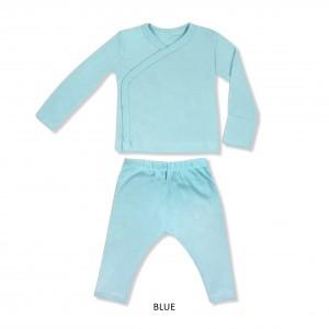 BLUE Baby Kimono Set