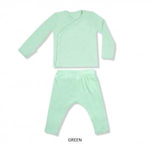 GREEN Baby Kimono Set
