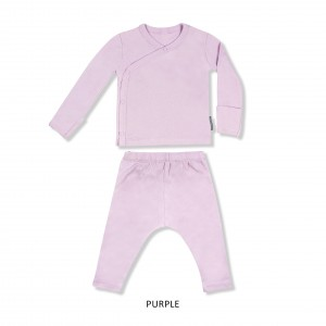 PURPLE Baby Kimono Set