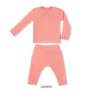 SALMON Baby Kimono Set