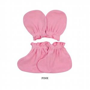 PINK Mittens & Booties